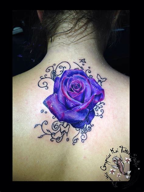 purple tattoo ink best 25 purple tattoos ideas on purple