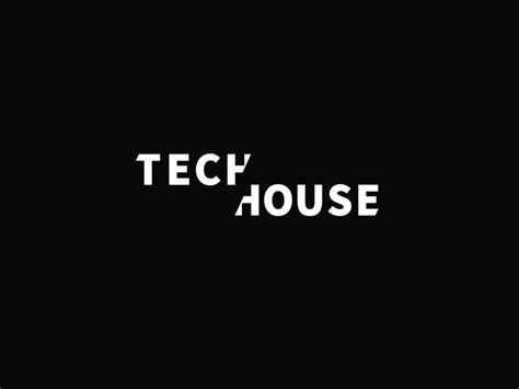tech house tech house logotype by gast 243 n v 225 squez dribbble