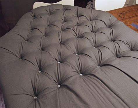 how to do diamond tufting upholstery best 25 diy tufted headboard ideas on pinterest diy