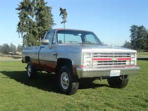 1985 Chevrolet 4x4 For Sale Buy Used 1985 Chevy 2500 4x4 Upgraded 6 5l Diesel Engine