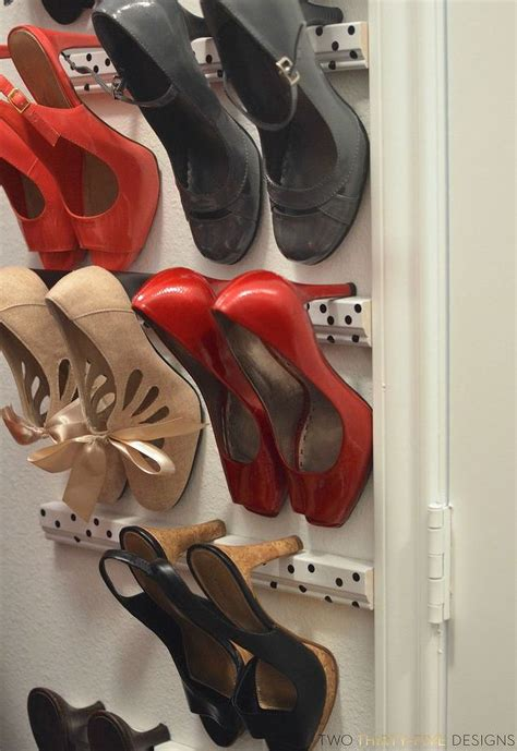 shoe shelves for high heels high heel shoe storage hometalk