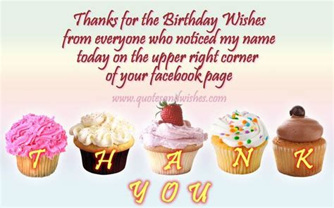 Saying Thank You For Birthday Wishes Quotes Best Thank You For Birthday Wishes Messages Sayings Text