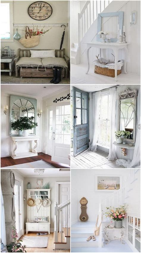 shabby chic cottage style sweet cottage shabby chic entryway decor ideas for