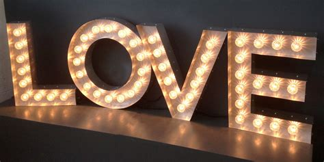 big letters with lights big metal letters with lights fair 18 marquee letters