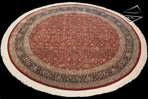 large circular rugs tabriz design rug 12 x 12