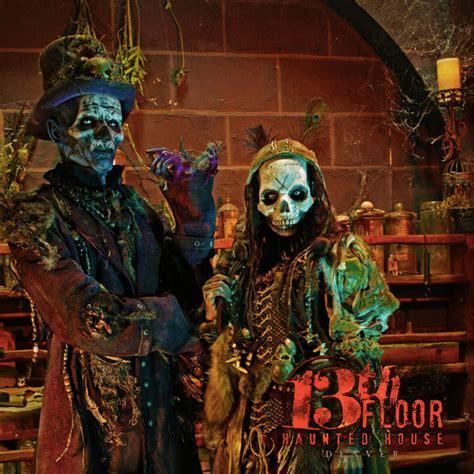 denver haunted houses the asylum 13th floor undead the asylum 13th floor haunted house primitive fear and