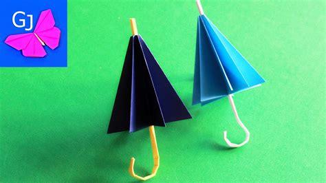 How To Make An Origami Umbrella - how to make an origami umbrella