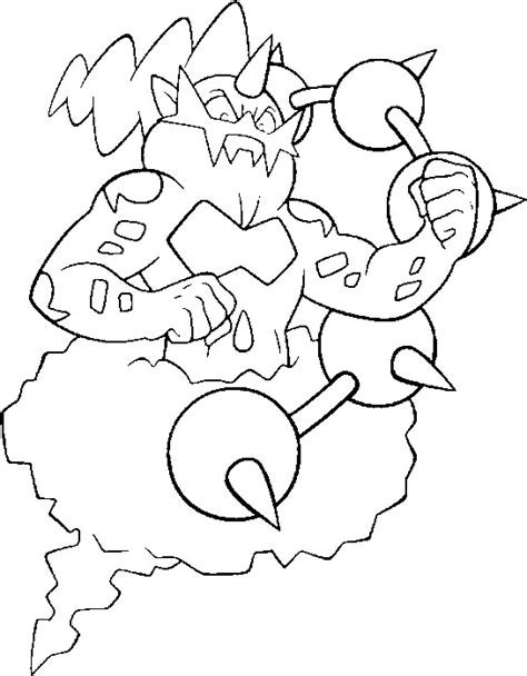 pokemon coloring pages thundurus coloring pages pokemon thundurus drawings pokemon