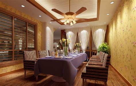 dining room with ceiling fan peenmedia com