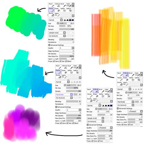 brush settings for painttool sai by m42ngc1976 d7l4ljl png 1000 215 1000 sai brushes