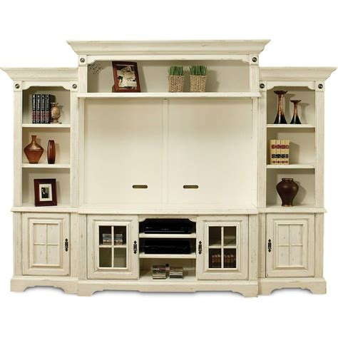 Rooms To Go Tv Stand by Highland Manor White 5 Entertainment Wall Unit