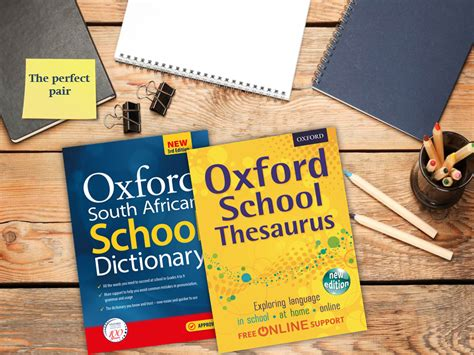 oxford sa the pair dictionary and thesaurus