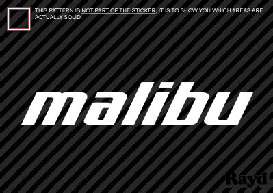 malibu boats sticker 2x malibu boats sticker die cut decal self adhesive