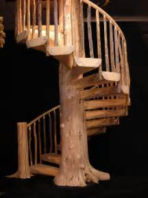 Wooden Spiral Stairs Design Wooden Outdoor Circular Staircase Rustic Spiral Wooden Staircase Design For Your Ideas
