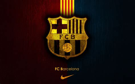 fc barcelona wallpaper widescreen fc barcelona logo wallpaper best cool wallpaper hd download