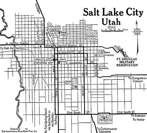map of salt lake city streets utah city maps at americanroads
