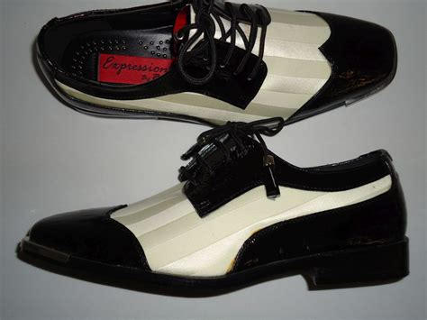 fancy dress shoes mens mens superbly black white satin fancy dress