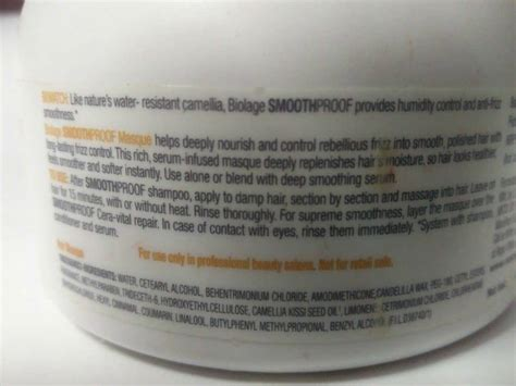 Matrix Biolage Smoothing Hair Mask 490 Gr Masker Rambut matrix biolage smoothing masque review