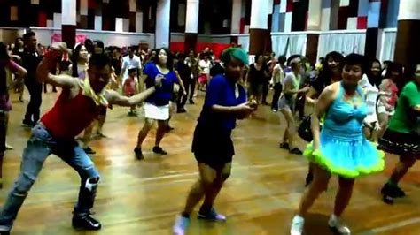 tutorial dance new thang new thang line dance philip sobrielo rebecca lee