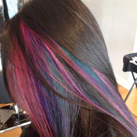 pictures of multicolor highlights 50 peekaboo highlights ideas hair motive hair motive