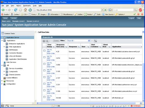 glassfish admin console coming up for air comparing the glassfish and oc4j admin