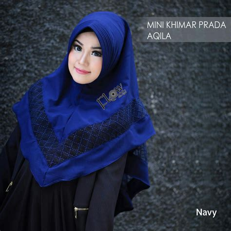Exclusive Mini Khimar Prada Aqila By Flow Idea jual jilbab mini khimar prada aqila by flow idea toko