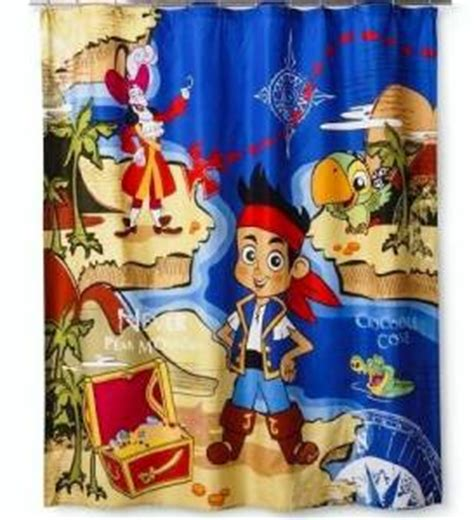 jake and the neverland pirates curtains disney jake and the neverland pirates treasure map bath