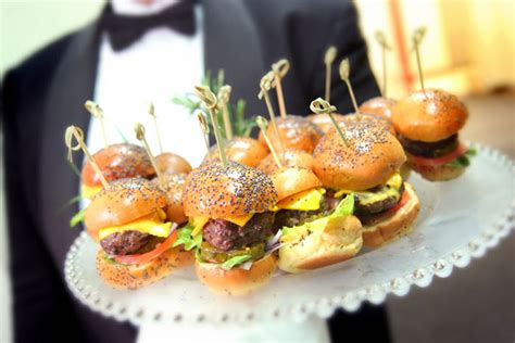 passed hors d oeuvres ideas fiesta ideas pinterest among the passed hors d oeuvres were cheeseburger sliders