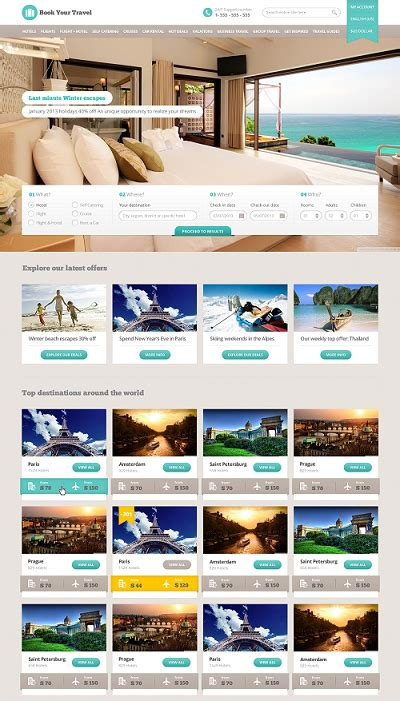 themeforest free html templates themeforest book your travel v2 3 booking html