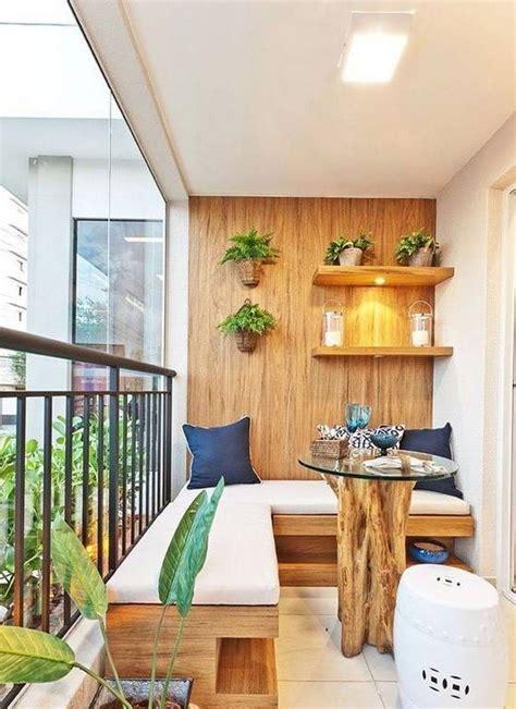 decorar patio con bancos 25 ideas para decorar un peque 241 o balc 243 n o terraza pisos