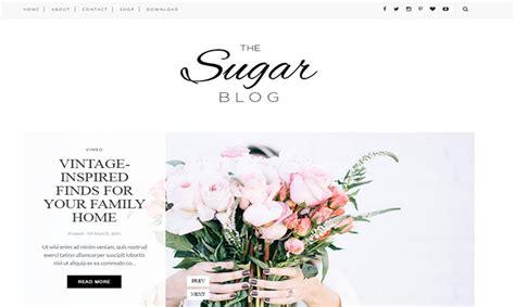 sugar blogger template