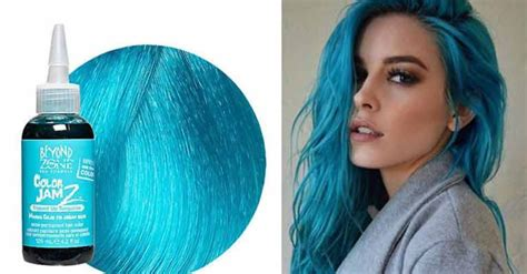 turquoise hair color best turquoise hair dye color manic atomic permanent