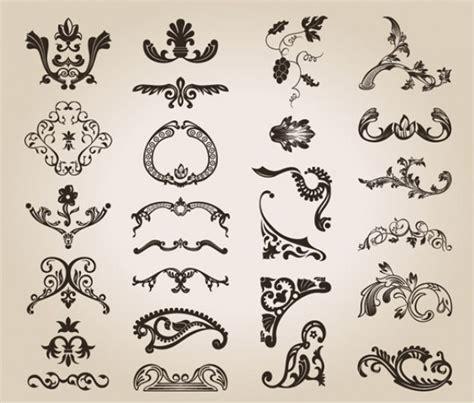 vintage pattern design free vintage design floral pattern vector free download