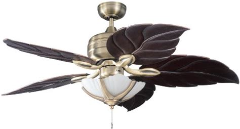 ceiling fan with leaf shaped blades tropical ceiling fans archives ceiling fan mart