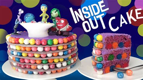 How To Make A Birthday Cake Out Of Paper - inside out cake how to cook that reardon disney pixar