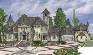 Pics photos langston country french home plans louisiana house plans