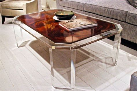 See Through Coffee Table See Through Furniture Adds Some Ooh La La To Room Heraldnet
