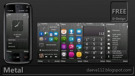 themes per nokia symbian theme temi symbian metal by daeva112 per