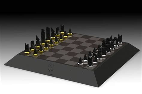 chess board design carbon chessboard by dominik scheurer partner tuvie
