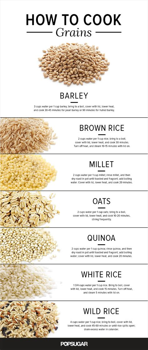 whole grains for 1 year how to cook grains popsugar food