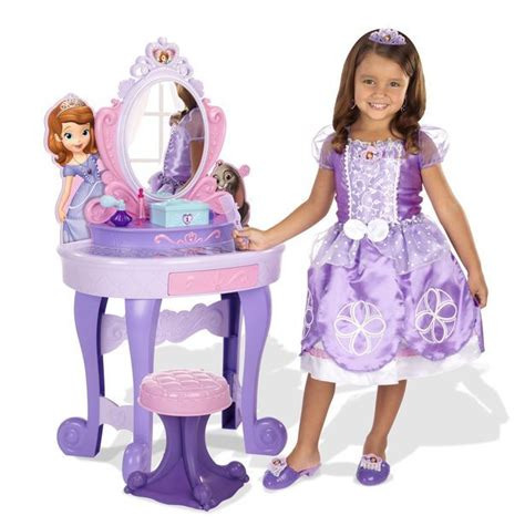 Princess Sofia Talking Vanity by 1 Sofia The Royal Talking Vanity Box