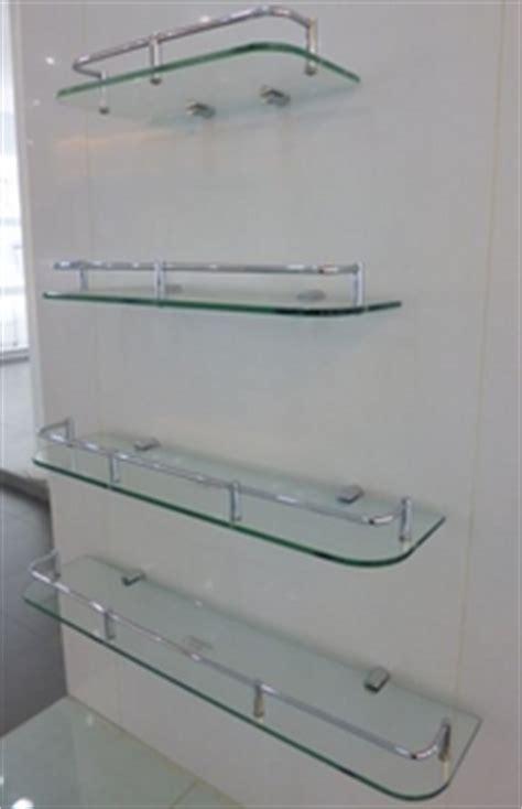 Bathroom Glass Shelves With Rail Shower Doors Twelve Sourcing Limited Metal Bathroom Accessories
