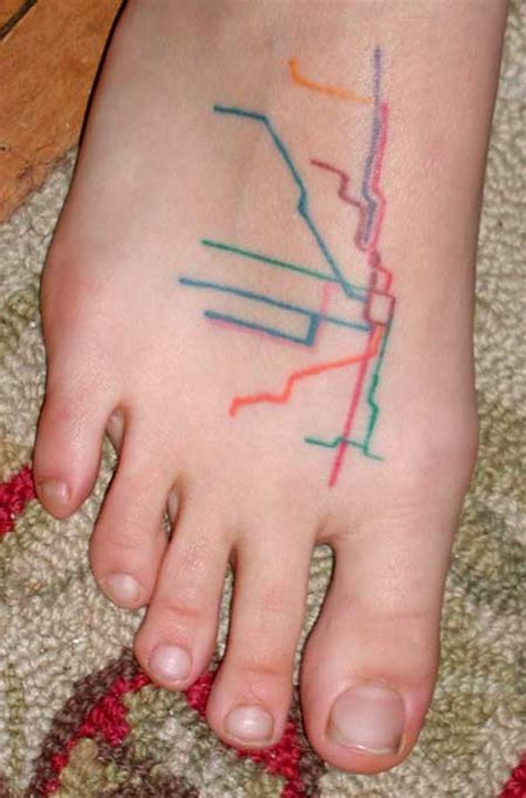 tattoo numbing cream on foot 9 craziest foot tattoos ever