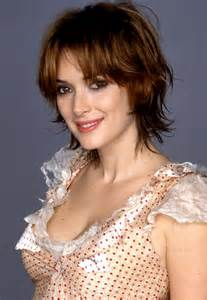 haircuts edgy razor cut edgy razor cut with highlights winona ryder s layered