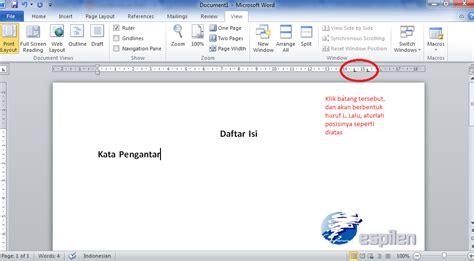 cara membuat daftar isi otomatis menggunakan tab cara membuat daftar isi titik titik otomatis di ms word