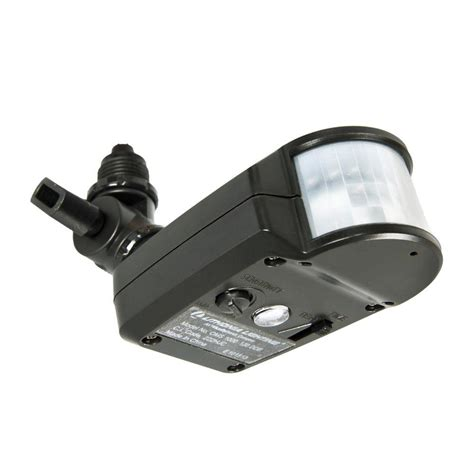 motion sensor post light outdoor motion sensor solar powered wireless pir motion