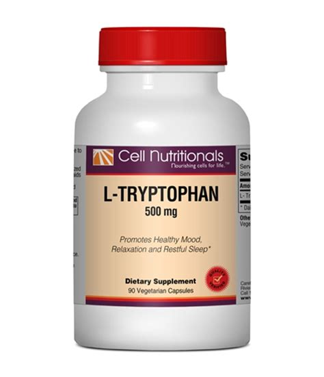 supplement l tryptophan l tryptophan supplement for sleep mood metabolism