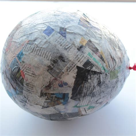 How To Make Paper Machie - how to make a paper mache air balloon hobbycraft