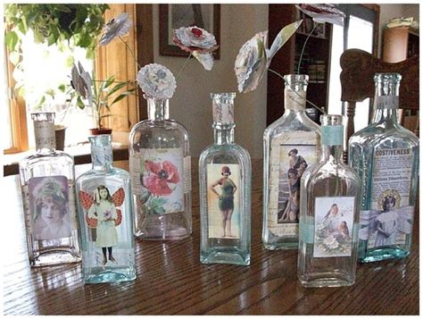 Handmade Wedding Decor - pretty bottles wedding decor ideas want that