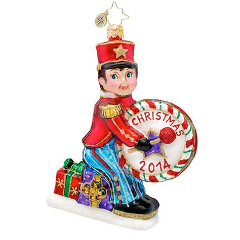 christopher radko ornaments 2014 radko drummer boy